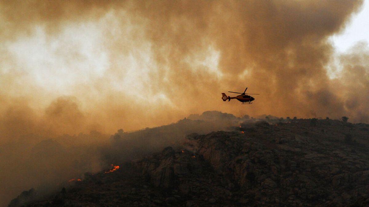 Incendio en Navalacruz, Ávila