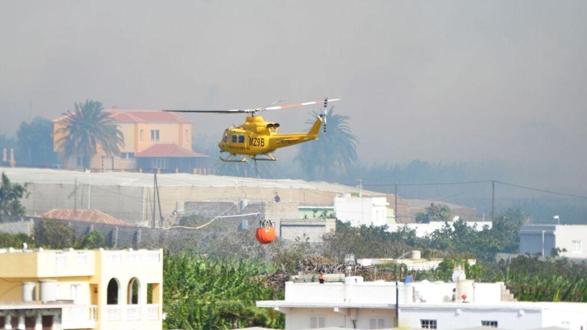 El incendio de La Palma continúa activo, a pesar de los esfuerzos nocturnos