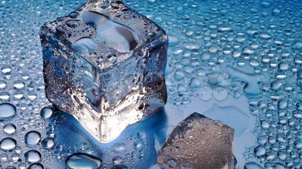 También, podrás usar un hielo.