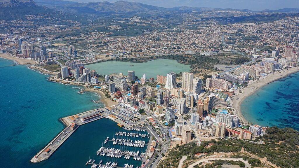 Playas de Calpe en Alicante