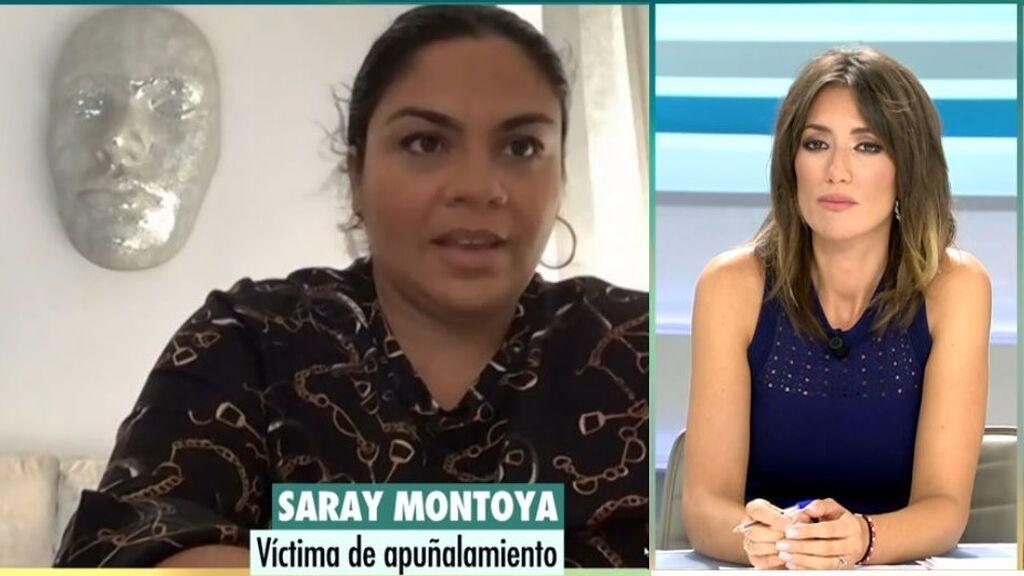 El desgarrador relato de Saray Montoya: cuenta cómo la apuñalaron
