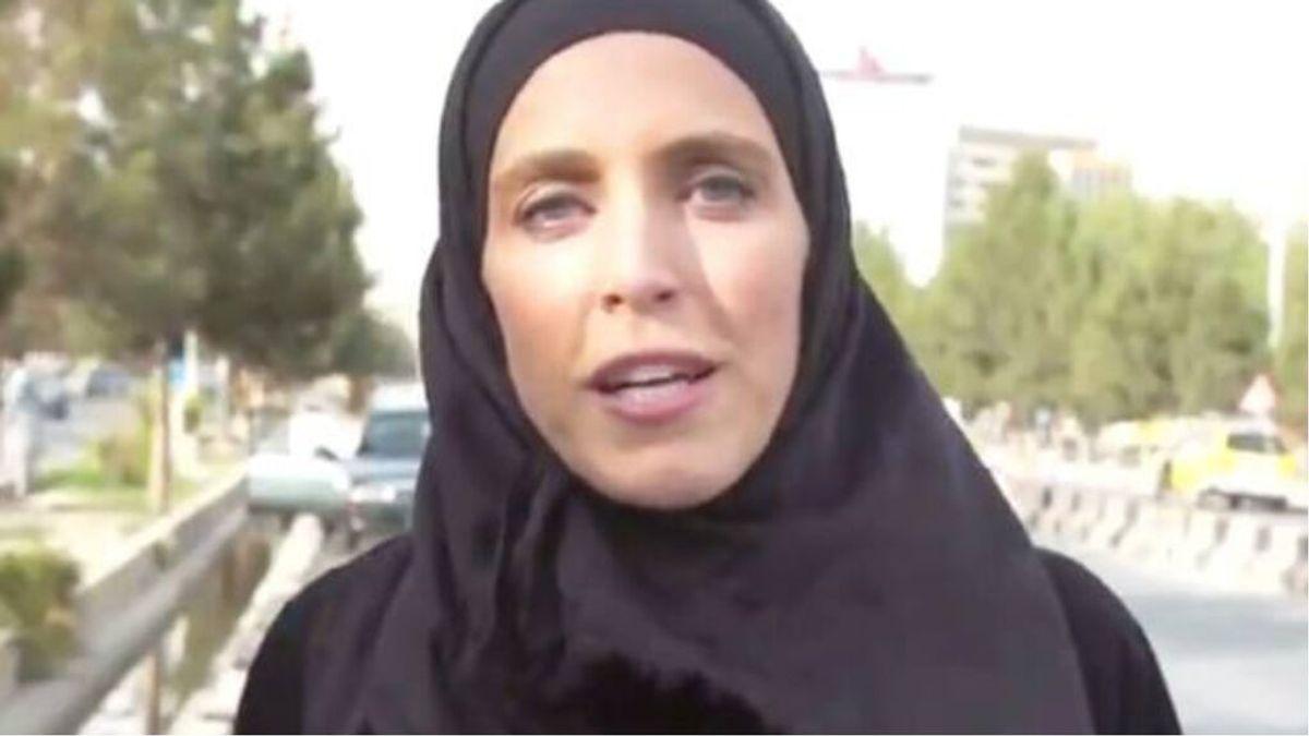 Clarissa Ward, reportera de CNN, acosada por un grupo de talibanes con tiros al aire y amenazas