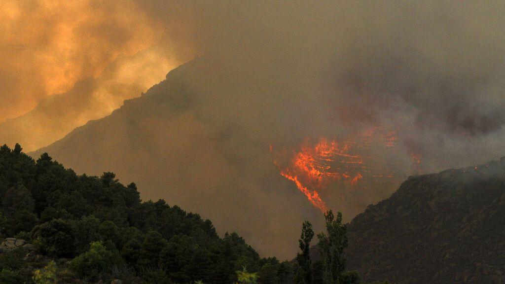 El incendio de Navalacruz es ya el cuarto más devastador en la historia de España