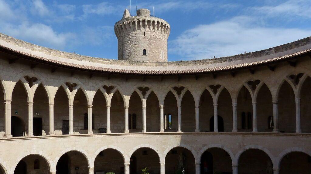 Castillo de Bellver, en Palma de Mallorca.
