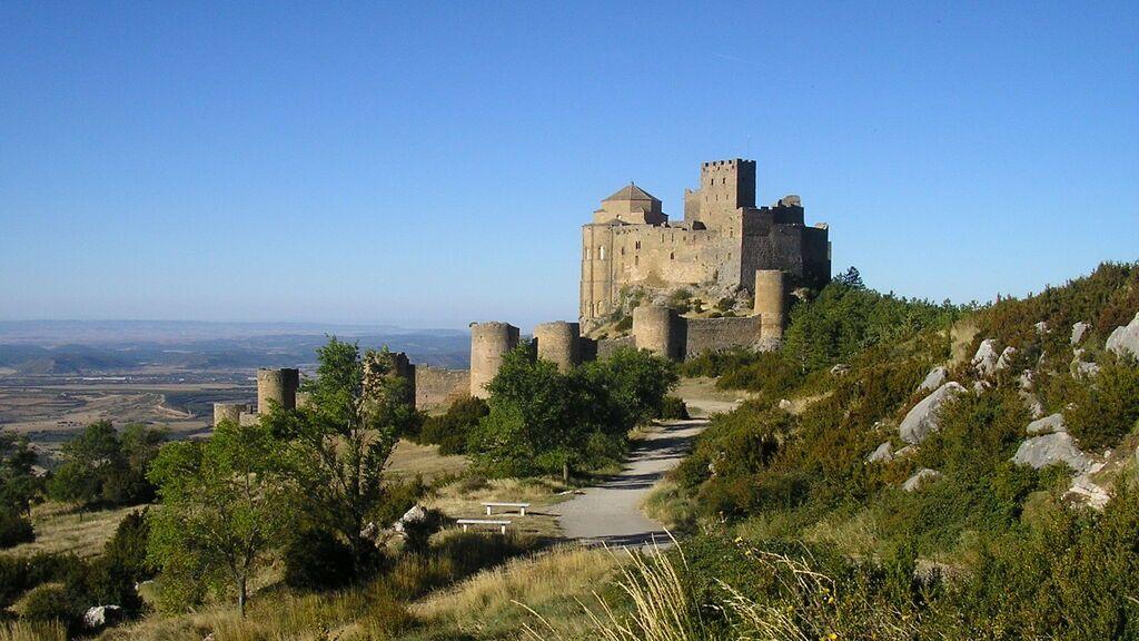 Castillo de Loarre, cerca de Huesca.