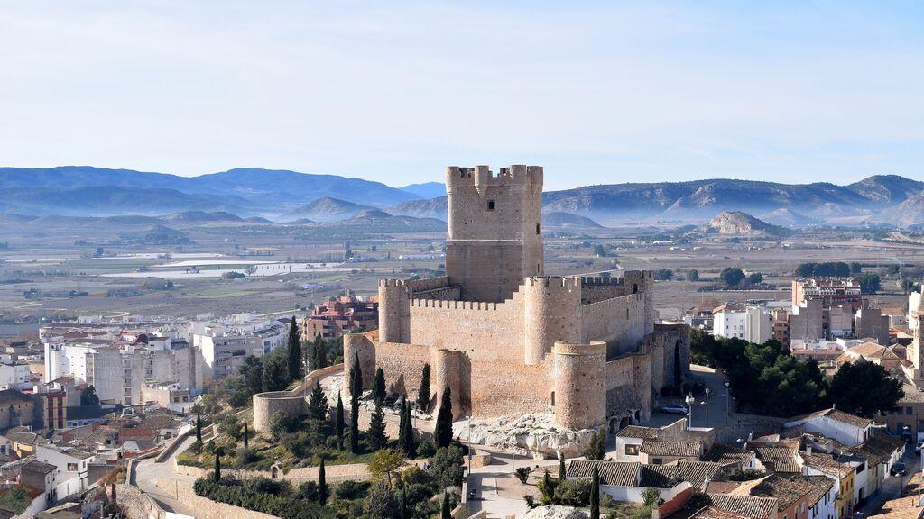Castillo de la Atalaya, cerca de Alicante.