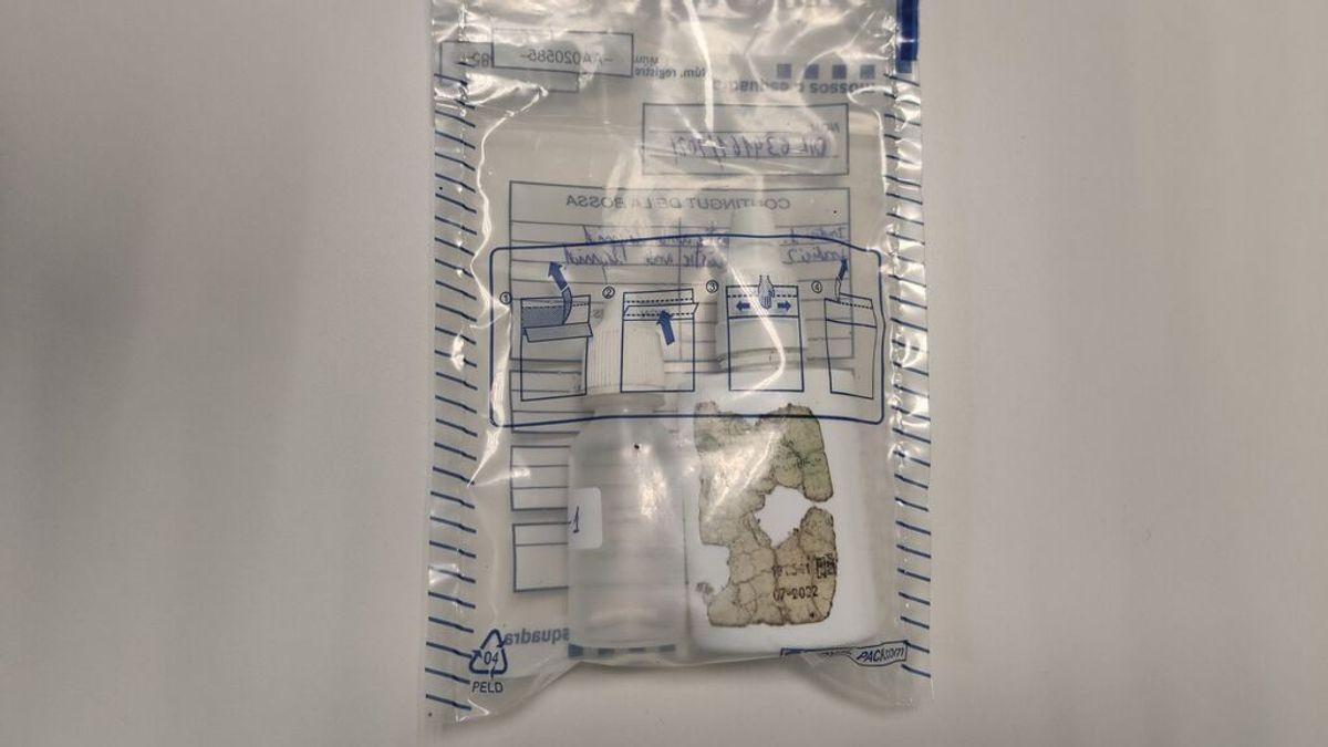 Sustancia química utilizada por el detenido