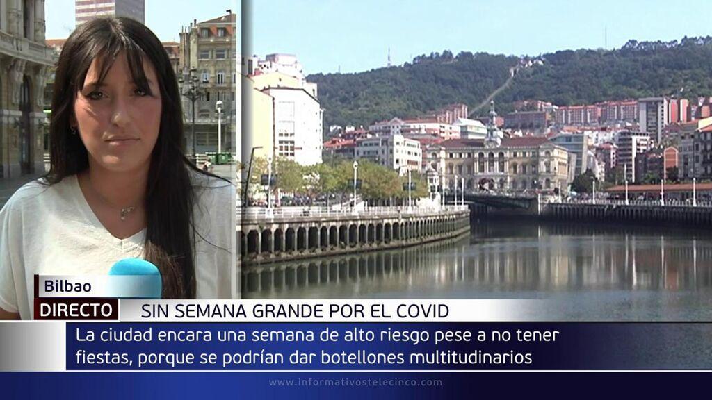 Bilbao, sin semana grande por el covid