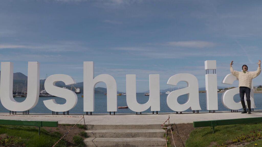 """'Viajeros Cuatro' llega al final de la Tierra: """"Ushuaia está considerado el culo del mundo"""""""