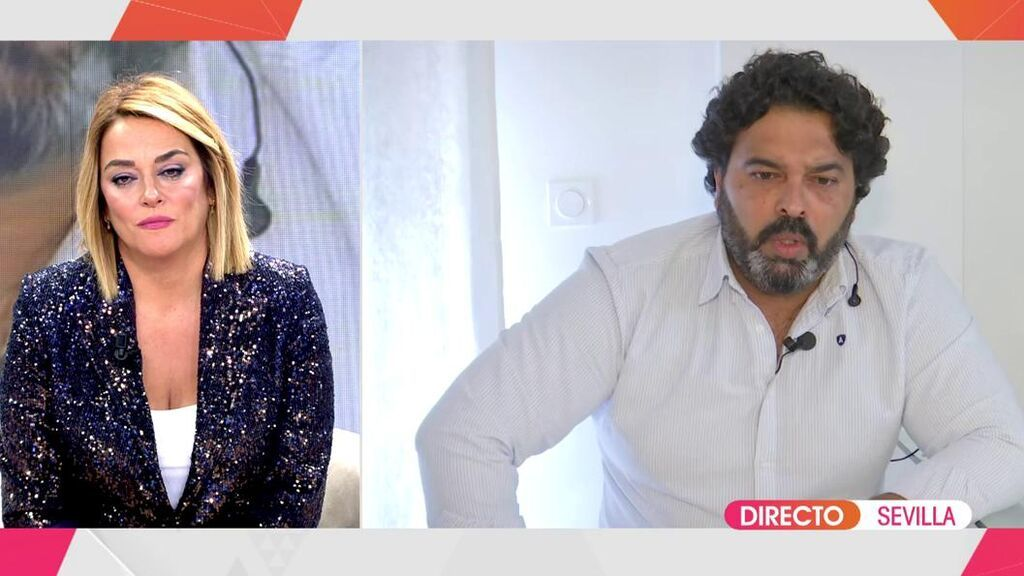Toñi Moreno entrevista al marido de Saray