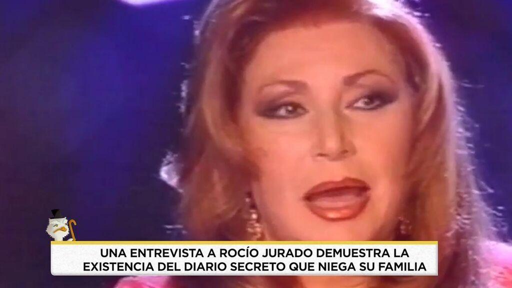 Rocío Jurado, en una entrevista con Pedro Ruiz