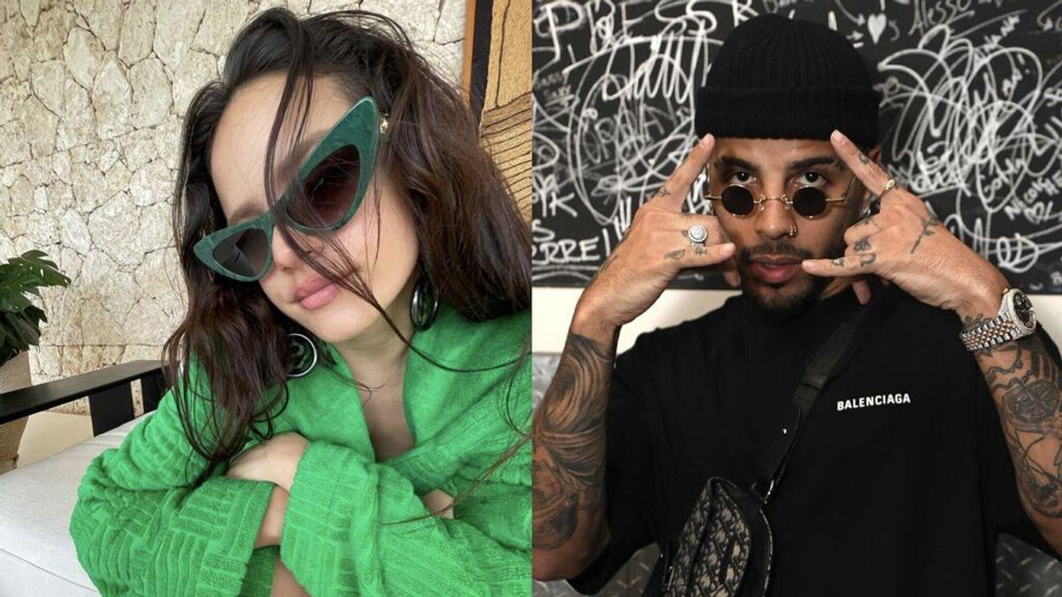 """Rosalía y Rauw Alejandro, pillados al salir juntos de un restaurante en Los Ángeles: """"Es real"""""""