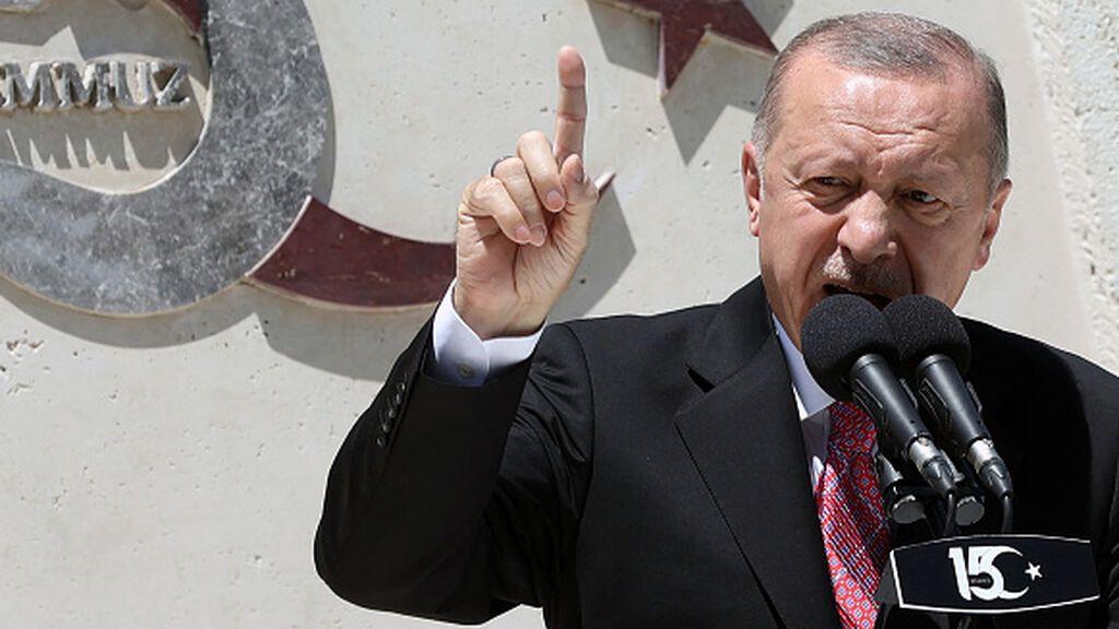 """Erdogán: """"Turquía no puede """"asumir las responsabilidades de terceros países"""""""