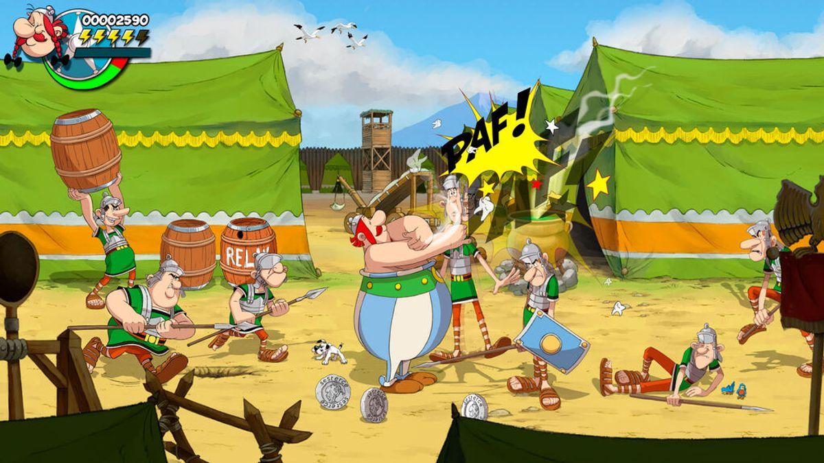 Asterix & Obelix: Slap Them All! se lanzará el 25 de noviembre en consolas