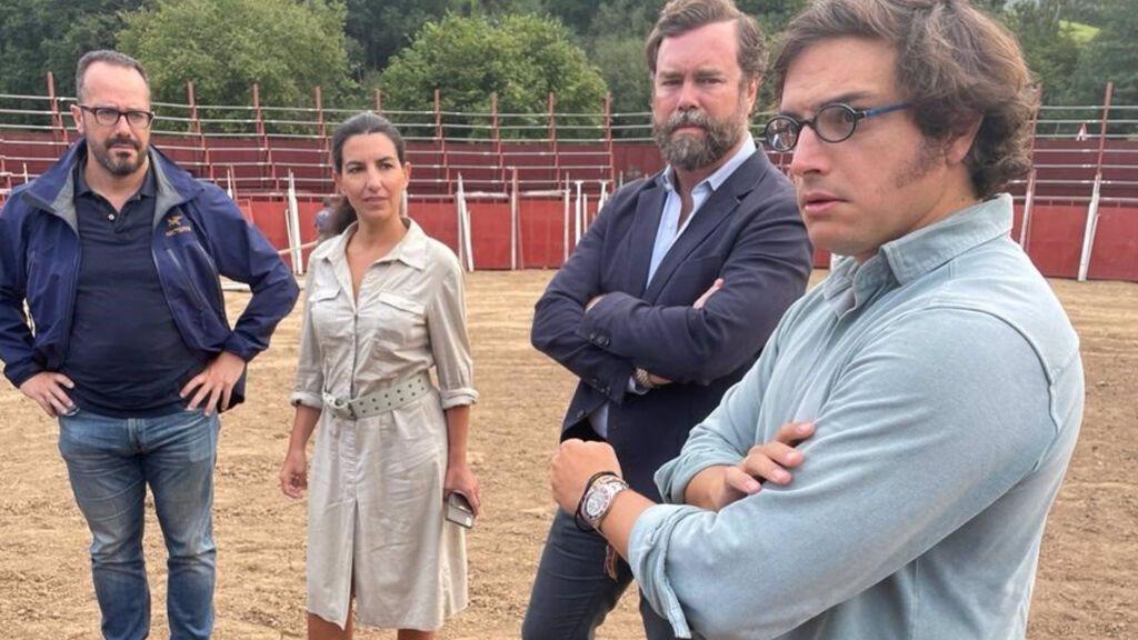 Vox y Adrián Barbón, presidente de Asturias, se enzarzan por la cancelación de las novilladas