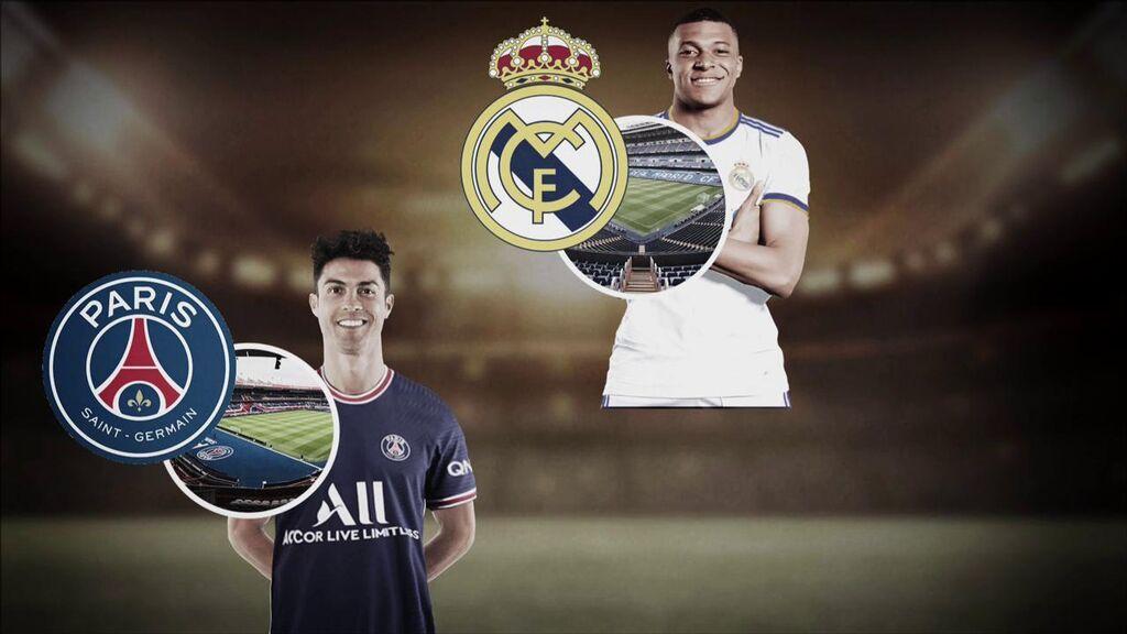 ¿Cambiarán de equipo Cristiano Ronaldo o Mbappé?