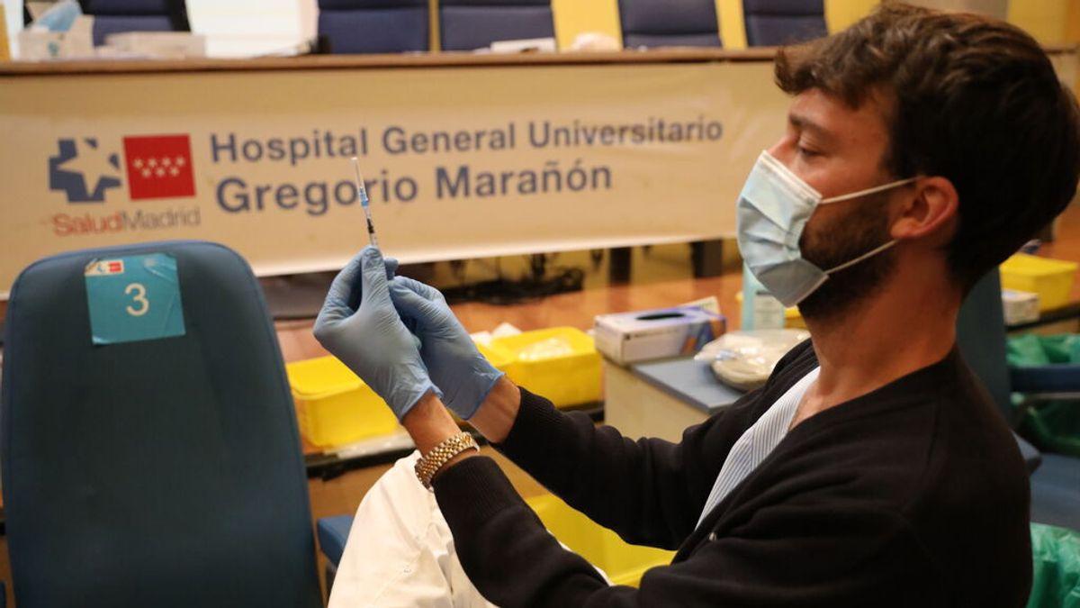 España roza los 36 millones de vacunados con al menos una dosis contra el coronavirus