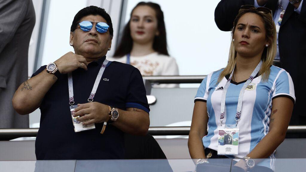 Maradona falleció a los 60 años.