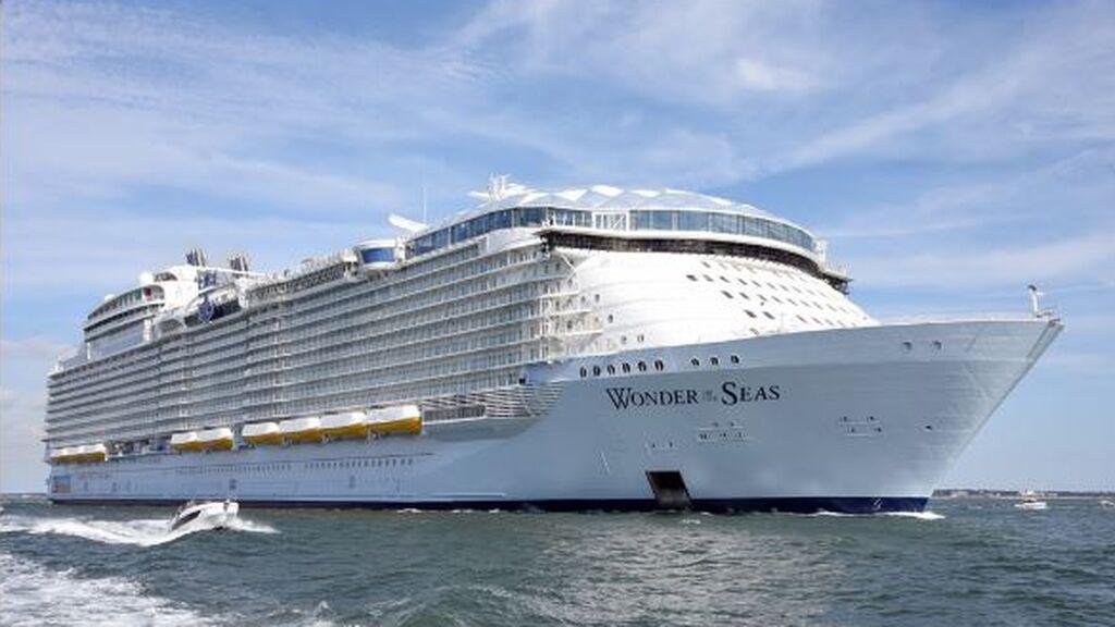 El transatlántico más grande del mundo concluye su primer viaje de prueba y prepara su estreno en 2022