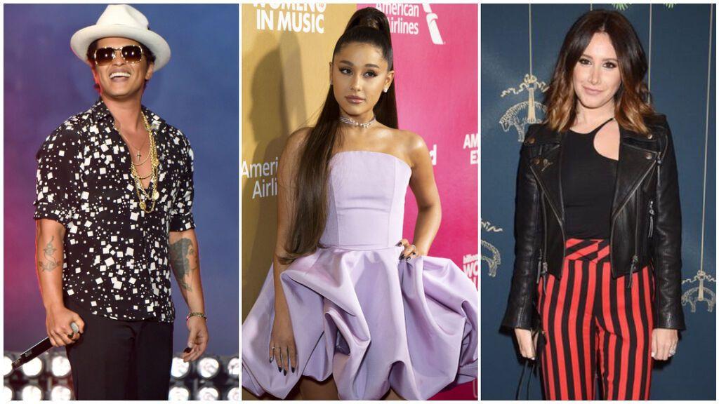 Estos famosos son judíos y probablemente no lo sabías: de Bruno Mars a Ariana Grande y Ashley Tisdale.
