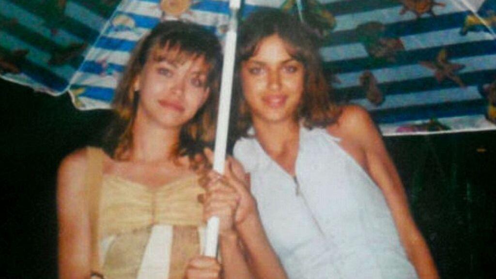 Irina siempre ha estado muy unida a su hermana, Tatiana.
