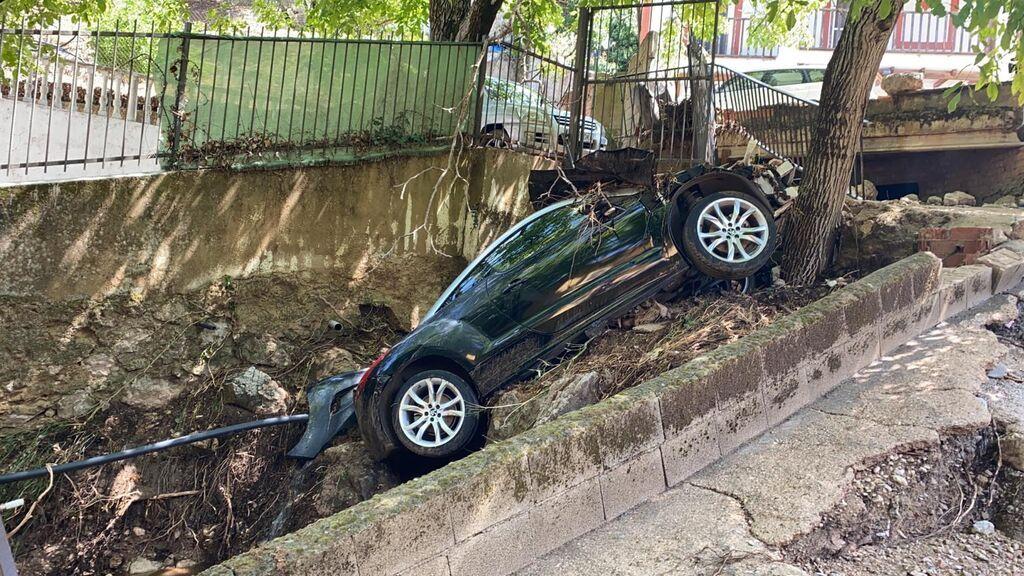 Una tormenta de dos horas deja multitud de daños en el municipio jienense de Burunchel