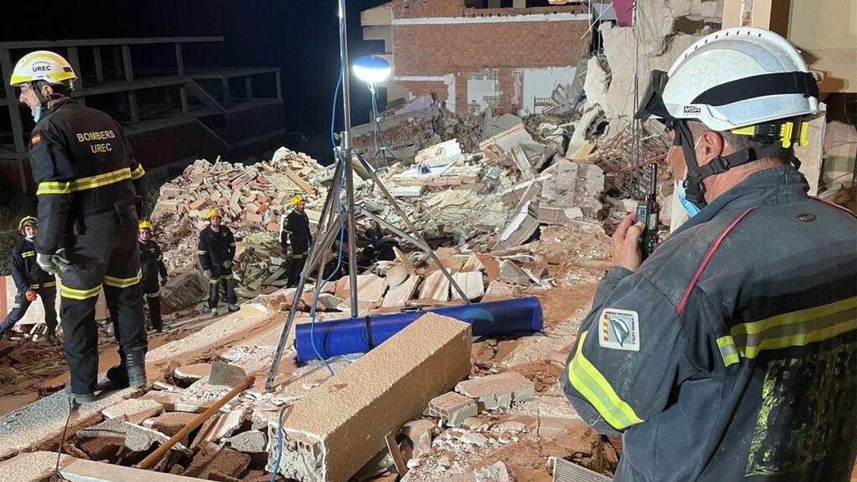 Encontrado sin vida el cuerpo de un menor en el derrumbe del edificio de Peñíscola