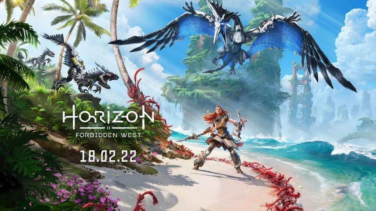 Horizon Forbidden West llegará a PS4 y Ps5 el 18 de febrero de 2022