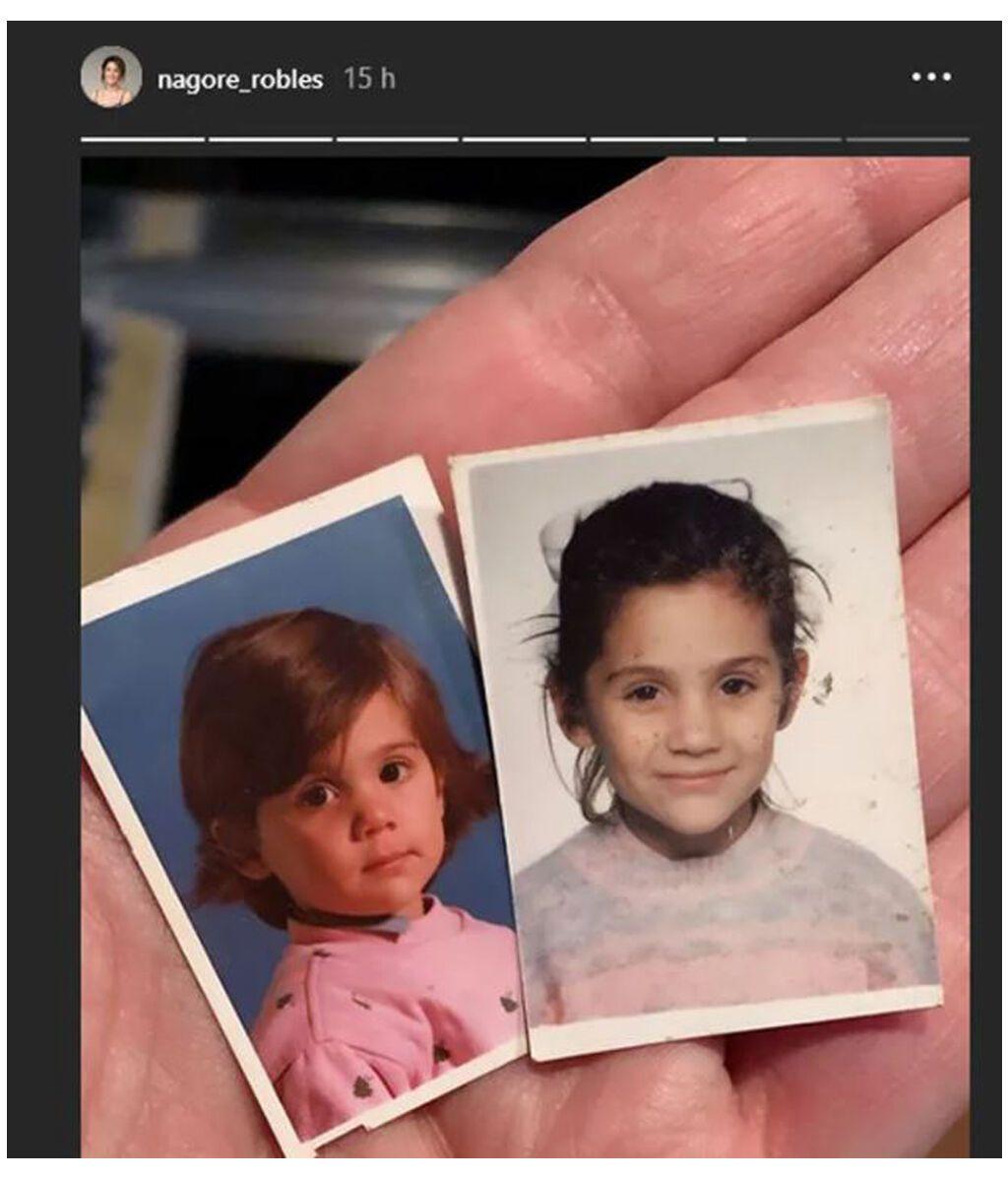 La foto de pequeña con la que Nagore Robles enamora a sus seguidores