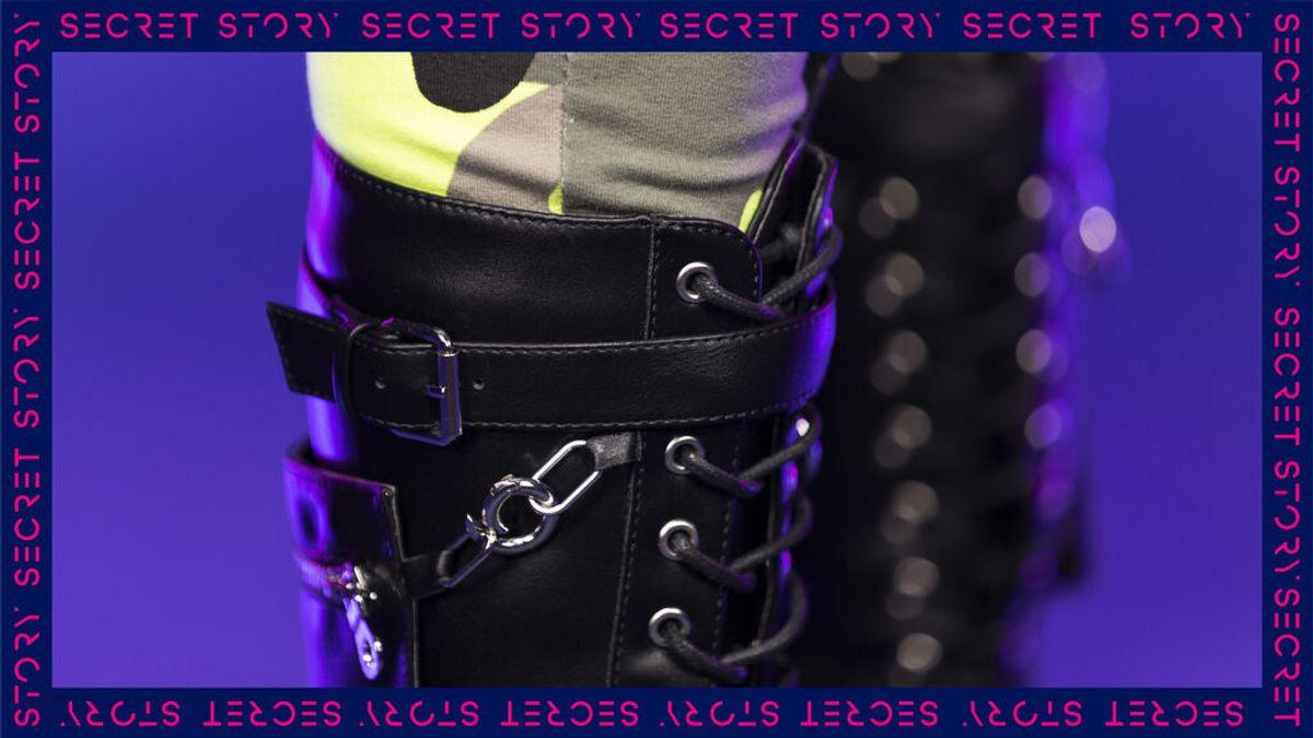 Unas cañeras botas de cuero: la nueva pista de un concursante de 'Secret Story'