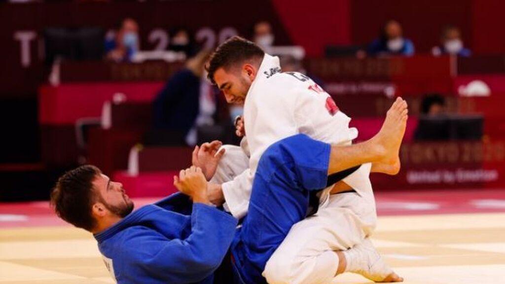 Sergio Ibáñez, plata en los -66 kilos del judo en los Juegos Paralímpicos de Tokio 2020