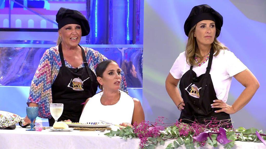 Lydia Lozano y Laura Fa, la nueva pareja de cocineras La última cena Temporada 2 Programa 16