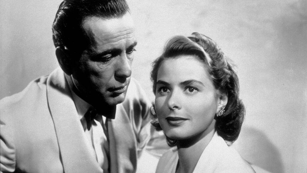 Humphrey Bogart e Ingrid Bergman, en 1942