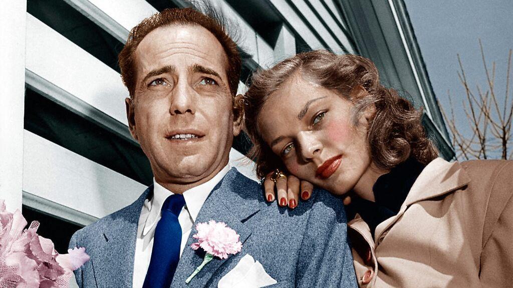 Humphrey Bogart y Lauren Bacall, 1945