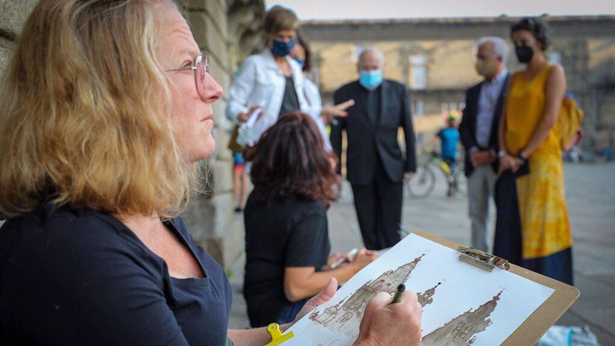 Más de 90.000 peregrinos han hecho el Camino de Santiago a lo largo de este 2021