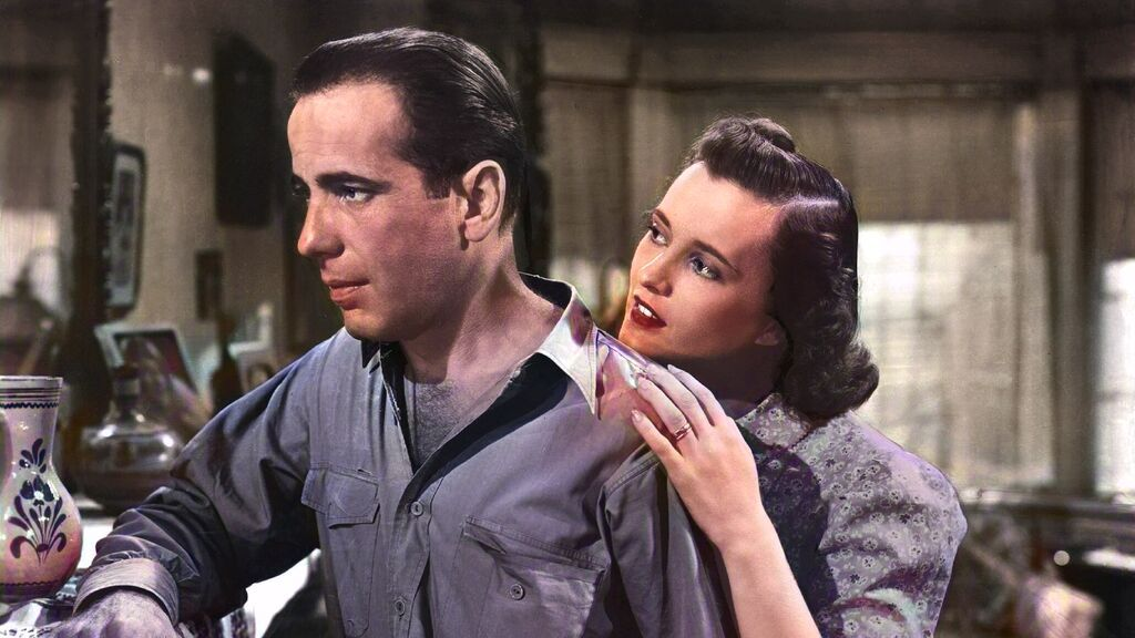 Humphrey Bogart, el tipo duro que descubrió el amor a los 50