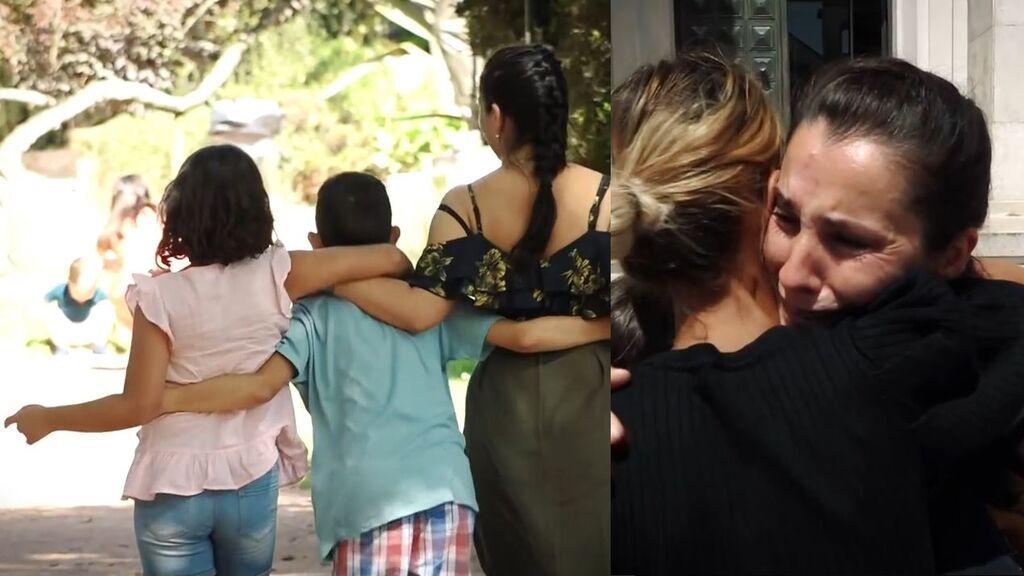Las primeras horas de Enke con sus hijos tras el secuestro