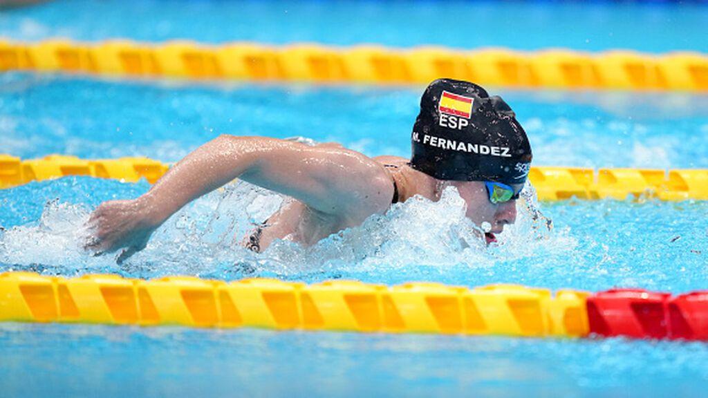 Marta Fernández  logra la plata y récord mundial en los 50 mariposa de los Juegos Paralímpicos de Tokio 2020