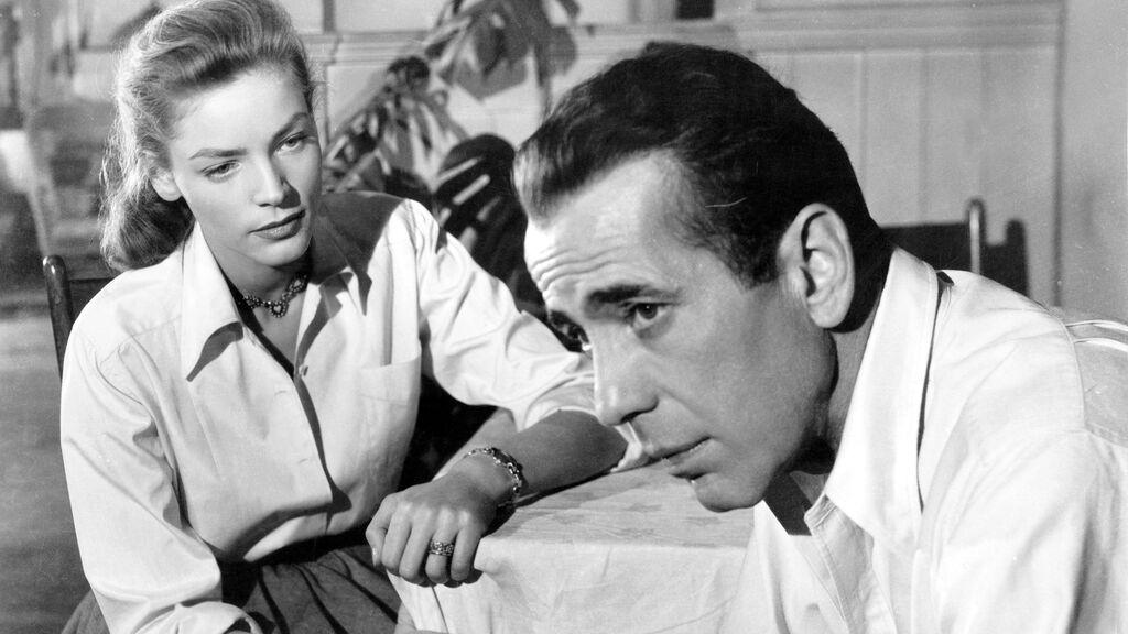 Lauren Bacall y Humphrey Bogart en 1948
