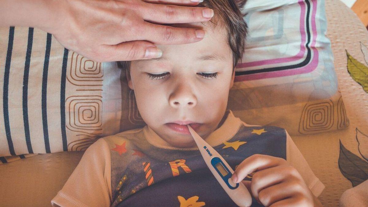 En qué se diferencia una gripe de un resfriado en niños