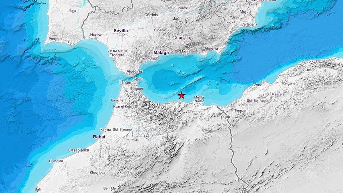 Terremoto de 4,9 en el Mar de Alborán