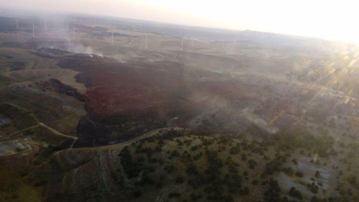 Controlado el fuego en Masa (Burgos), donde permanece más de una treintena de medios