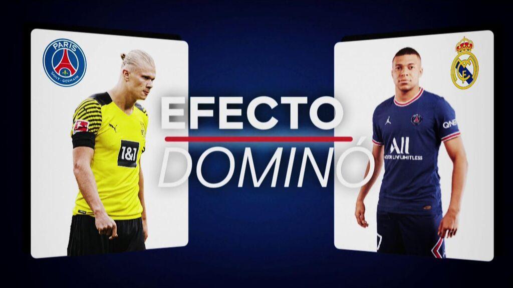 El efecto dominó que causaría la salida de Mbappé: de su sustituto al segundo plano de Hazard