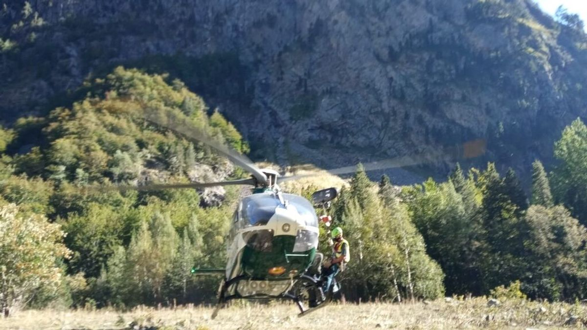 Muere un montañero francés al caer desde una altura de 50 metros en el pirineo aragonés