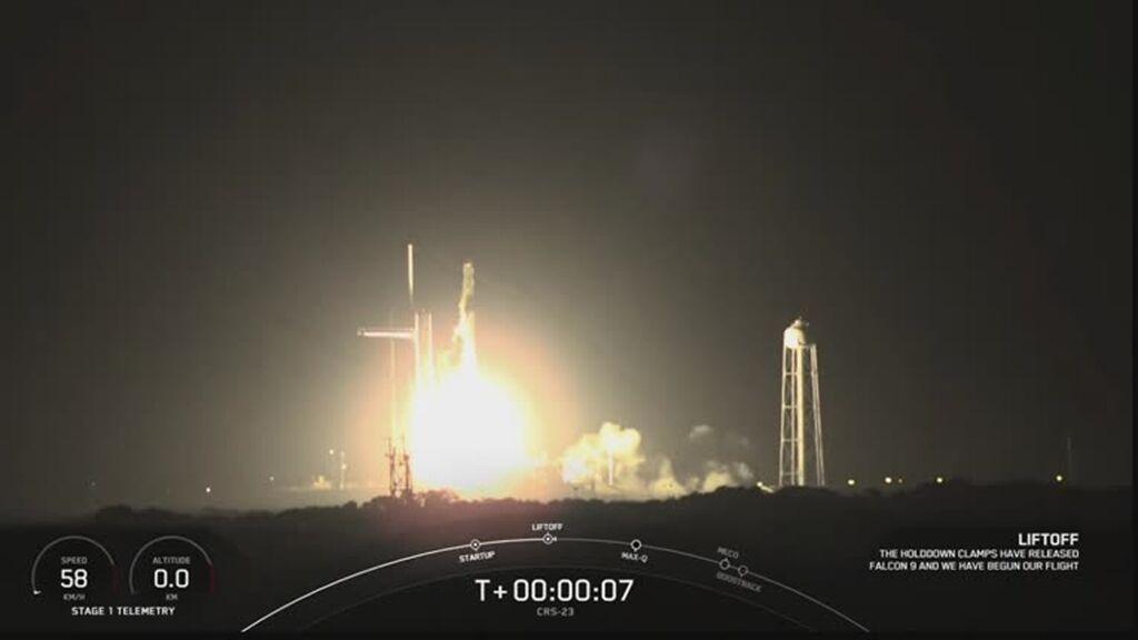 La NASA lanza con éxito la misión de abastecimiento a la ISS a bordo de un cohete de SpaceX