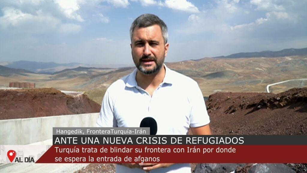 Turquía levanta un muro en la frontera con Irán para evitar que los afganos huyan a Europa