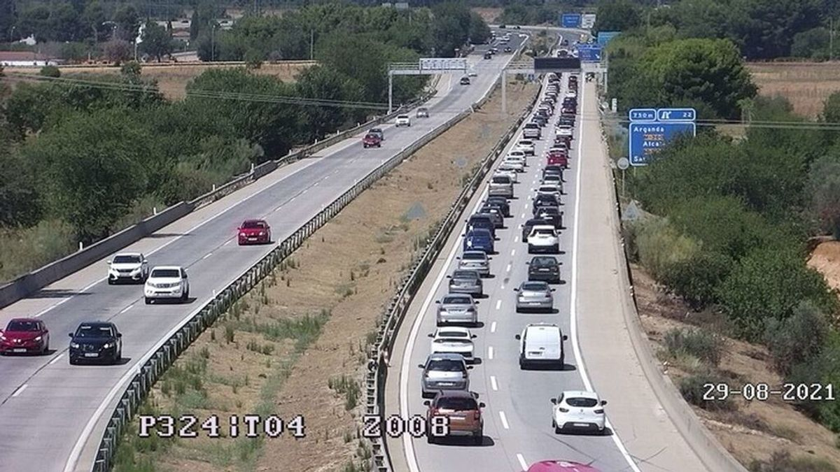 Retenciones de hasta 10 kilómetros para entrar a Madrid en la vuelta de las vacaciones de verano