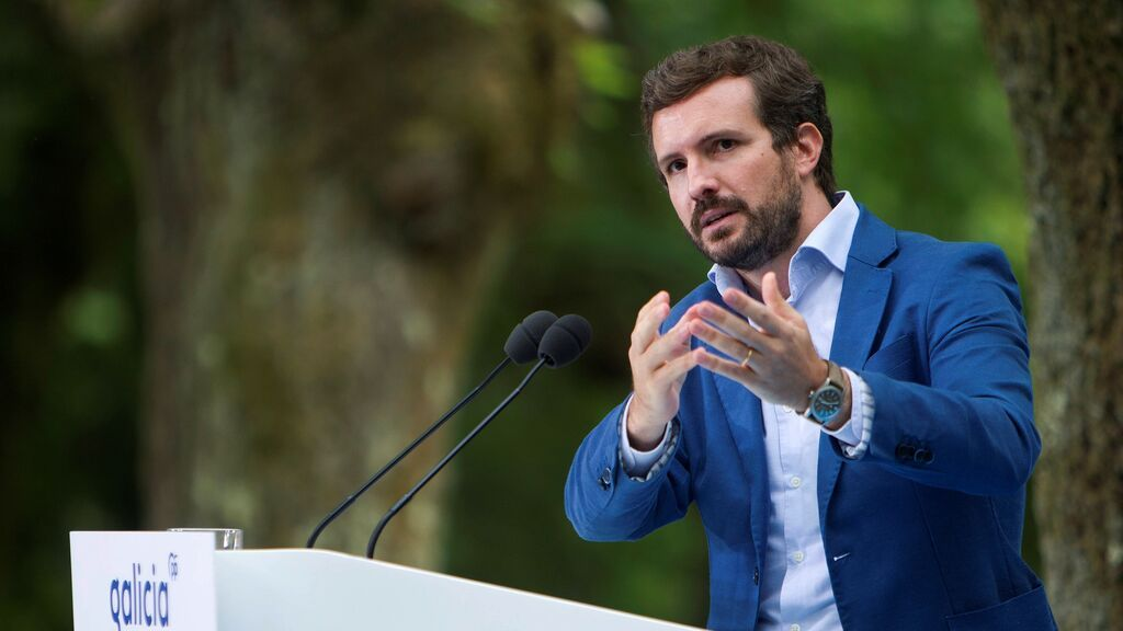 Pablo Casado abre el curso político llamando mentiroso a Pedro Sánchez y pidiendo el cese de Marlaska