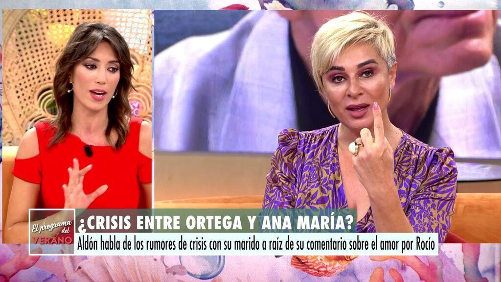 """Patricia Pardo contesta a Ana María Aldón: """"Me parece muy injusto que haga culpable a los mensajeros"""""""