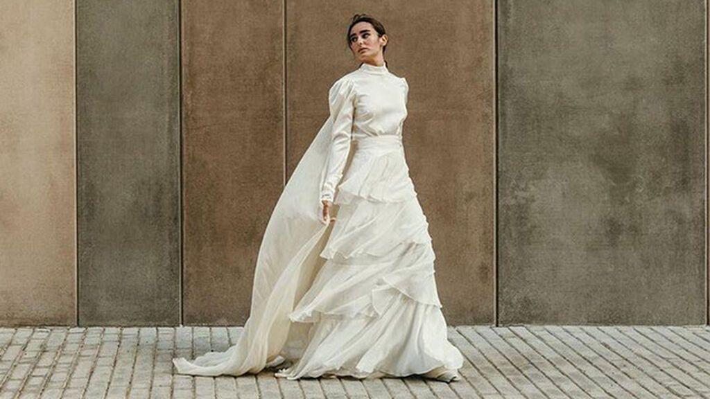 La cola y la elegancia no siempre van de la mano: 10 vestidos de novia sin cola